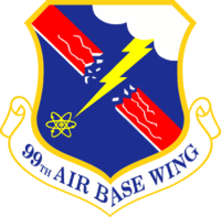 99th Air Base Wing Patch